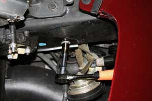 photo of side mounting bolts location